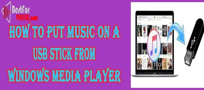 How to Put Music on a USB Stick from Windows Media Player