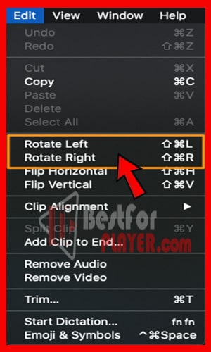 How to Rotate a QuickTime Video