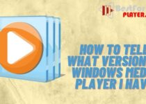 How to tell what version of windows media player I have