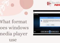 What format does windows media player use